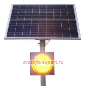 Автономные светофоры Т 7 на солнечных батареях